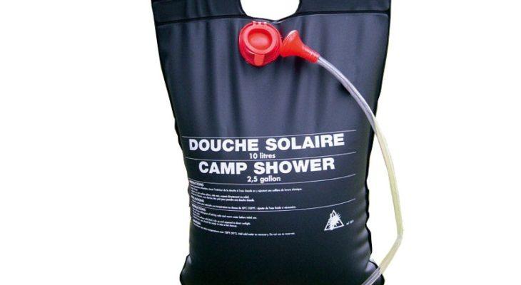 Quelle est la meilleure douche solaire de camping photo 3