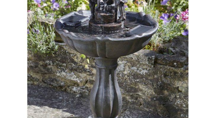 Quelles sont les meilleures fontaines de jardin solaires photo 3